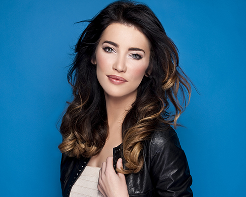 Jacqueline MacInnes Wood as Steffy Forrester. Photo by Gilles Toucas.