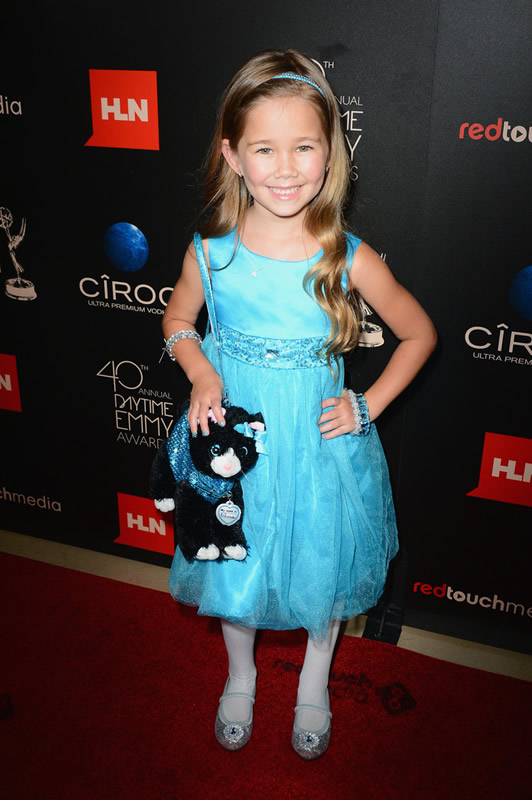 Actress Brooklyn Rae Silzer (General Hospital) attends The 40th Annual Daytime Emmy Awards at The Beverly Hilton Hotel on June 16, 2013 in Beverly Hills, California. - Source: Mark Davis/Getty Images North America