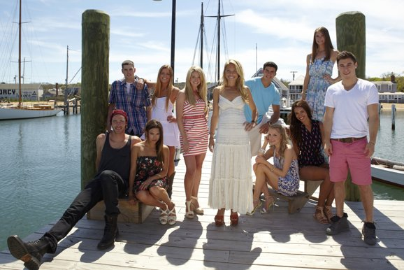 "Photo Credit: ABC Family  The cast of the new unscripted drama series, ""The Vineyard."" Featuring (from left to right) Louis D'Agostino, Ben Rossi, Sophi Alvarez, Cat Todd, Jackie Lyons, Katie Tardif, Jon Franco, Emily Burns, Taeylr Robinson, Gabby Lapointe and Daniel Lipshutz."