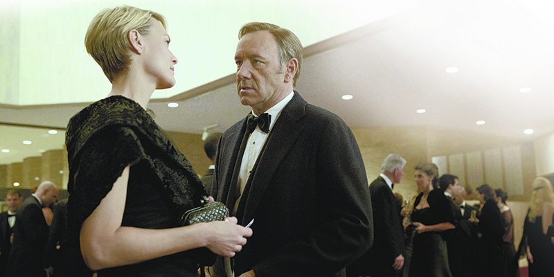 Pictured: Robin Wright and Kevin Spacey | Photo Credit: Netflix
