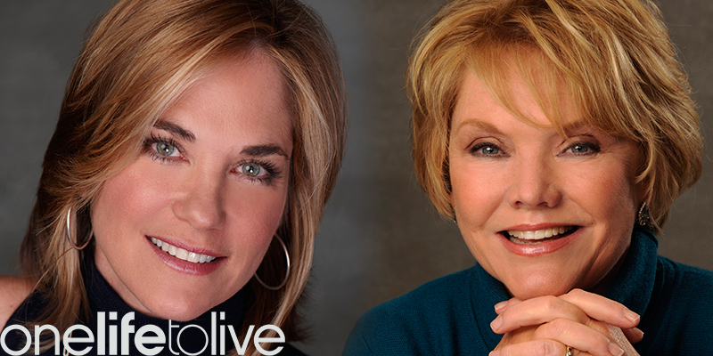 Pictured: Kassie DePaiva and Erika Slezak; Photo Credit: Donna Svennevik