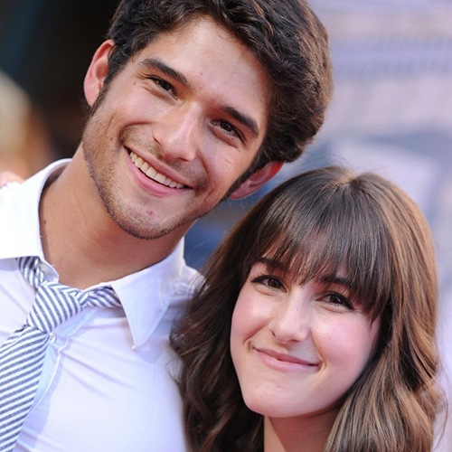 Actor Tyler Posey and girlfriend Seana Gorlick  | Photo Credit: Axelle/Bauer-Griffin