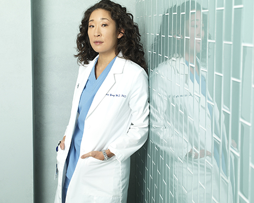 "GREY'S ANATOMY - ABC's ""Grey's Anatomy"" stars Sandra Oh as Cristina Yang. (ABC/BOB D'AMICO)"