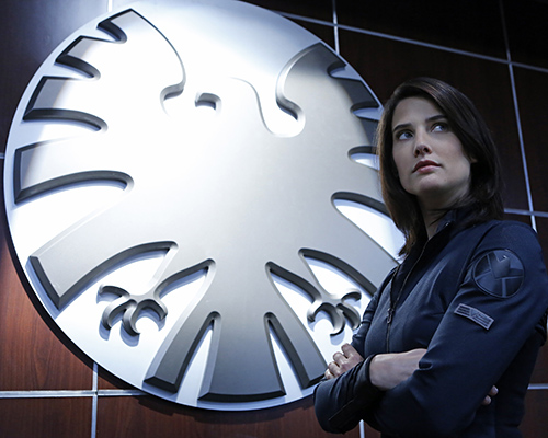 "Cobie Smulders reprises her ""Avengers"" role as Agent Maria Hill. Photo Credit: Justin Lubin/ABC"