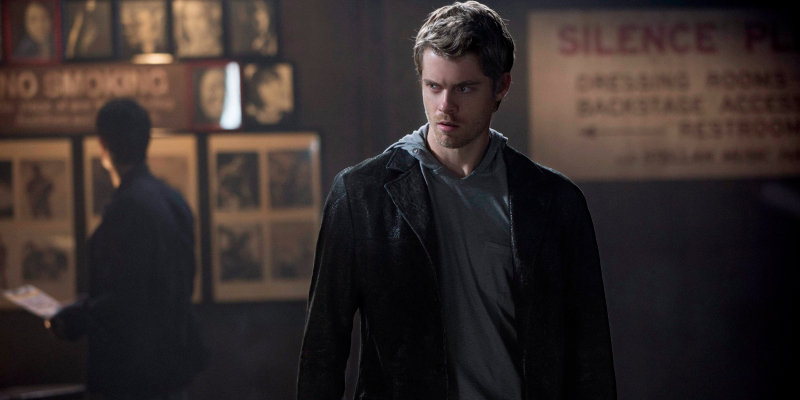 "The Tomorrow People -- ""Kill or Be Killed"" -- Pictured: Luke Mitchell as John --  Photo: Cate Cameron/The CW --  ©2013 The CW Network, LLC. All rights reserved."