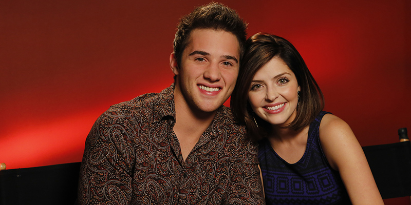 "DAYS OF OUR LIVES -- ""Universal Fan Event"" -- Pictured: (l-r) Casey Moss, Jen Lilley -- (Photo by: Vivian Zink/NBC)"
