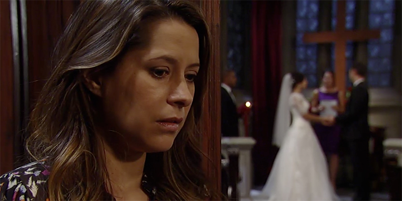 General Hospital Patrick and Robin Wedding