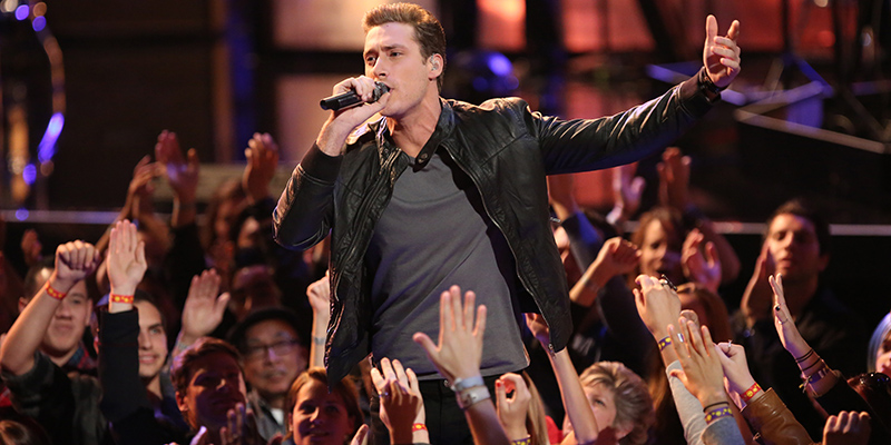 "THE VOICE -- ""Live Show"" Episode 513A -- Pictured: Ray Boudreaux -- (Photo by: Tyler Golden/NBC)"