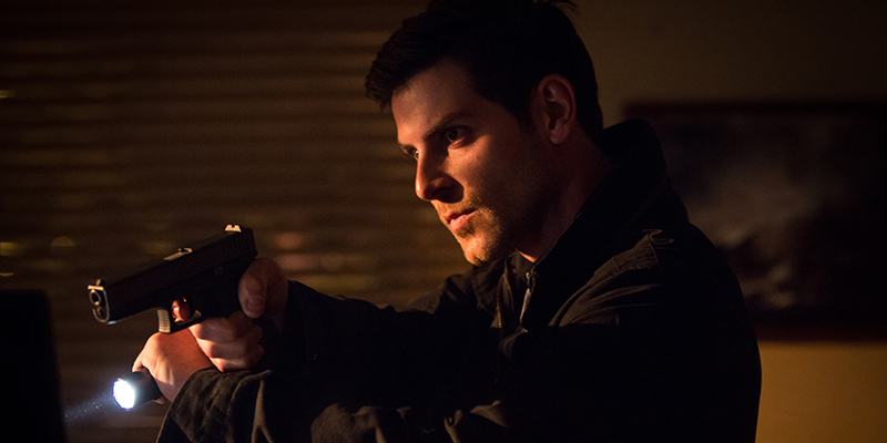 "GRIMM -- ""El Cucuy"" Episode 305 -- Pictured: David Giuntoli as Nick Burkhardt -- (Photo by: Scott Green/NBC)"