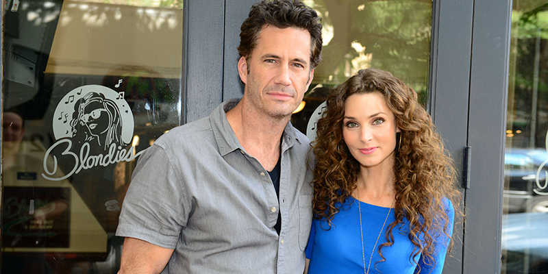 """Tainted Dreams"" stars Michael Lowry and Alicia Minshew."