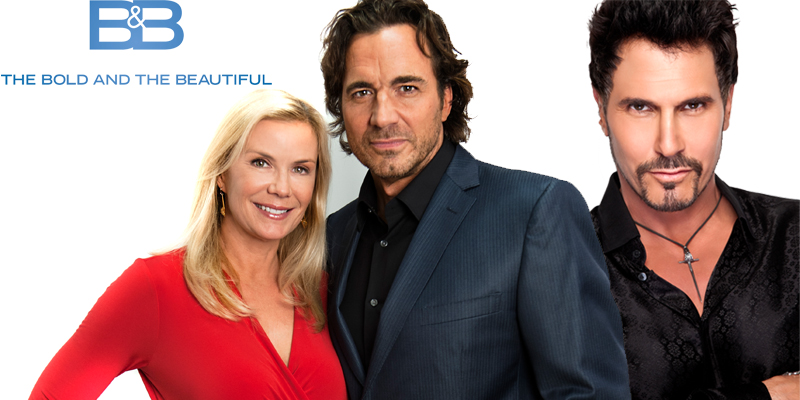Pictured: Katherine Kelly Lang, Thorsten Kaye and Don Diamont; Photo Credits: Danya Morrison;  Gilles Toucas
