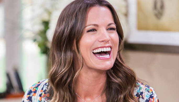 "Melissa Claire Egan appears on ""Home & Family"". Copyright 2014 Crown Media Family Networks/Photographer: Jeremy Lee"