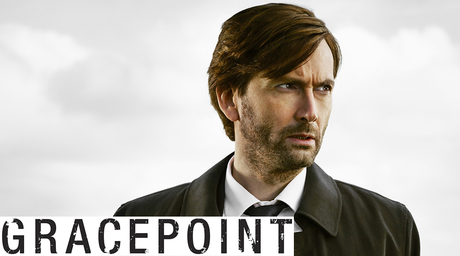 GRACEPOINT: David Tennant as Detective Emmett Carver. GRACEPOINT will air Thursdays (9:00-10:00 PM ET/PT) this fall on FOX. ©2014 Fox Broadcasting Co. Cr: Brendan Meadows/FOX
