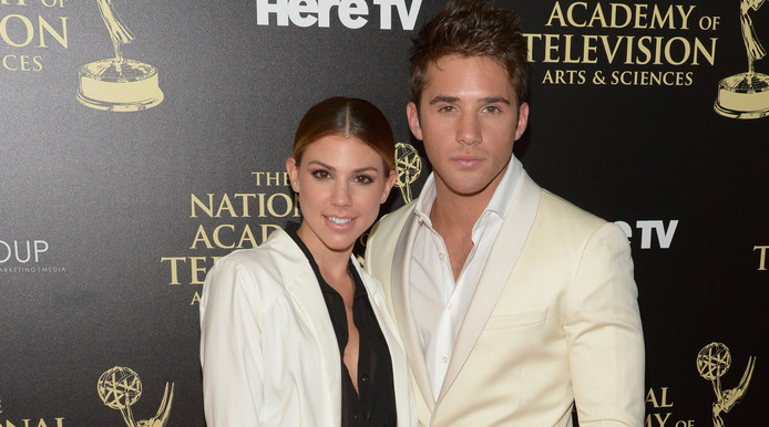 Red Carpet Interview: Casey Moss and Kate Mansi – 2014 Daytime Emmy Awards