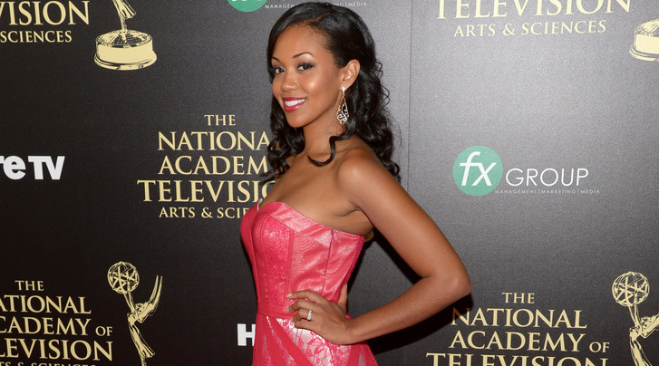 Red Carpet Interview: Mishael Morgan – 2014 Daytime Emmy Awards
