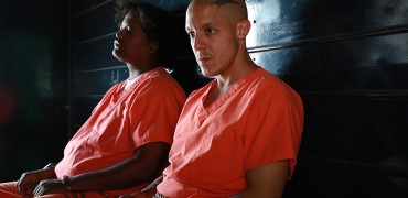 """SONS OF ANARCHY -- """"What a Piece of Work Is Man"""" -- Episode 709 -- Airs Tuesday, November 4, 10:00 pm e/p) -- Pictured: (front) Theo Rossi as Juice Ortiz. CR: Byron Cohen/FX"""