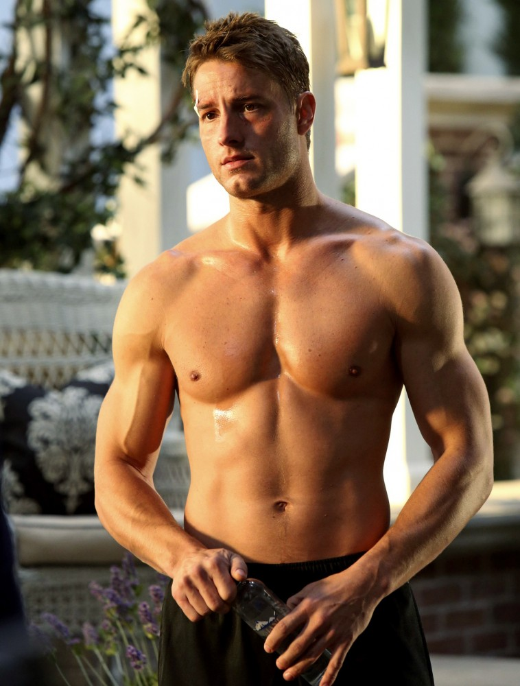 justin-hartley-revenge-shirtless