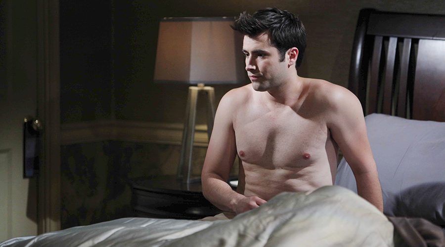 Sonny finally hears from Will, only to have his husband angrily rip into him. Photo credit: NBC