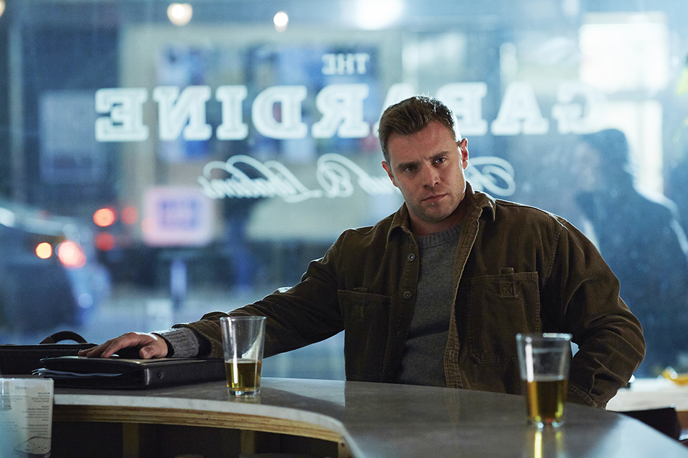 """SUITS -- """"Not Just a Pretty Face"""" Episode 416 -- Pictured: Billy Miller as Marcus Specter -- (Photo by: Shane Mahood/USA Network)"""