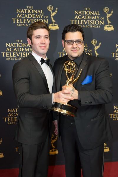 PHOTO 2 - Executive Producers Kristos Andrews and Gregori J. Martin