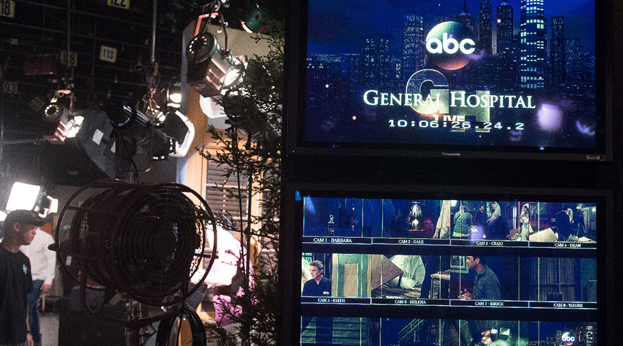 "GENERAL HOSPITAL - On Friday, May 15, 2015 and Monday, May 18, 2015, ABC unveils a two-day network daytime television event when ""General Hospital"" broadcasts LIVE from The ABC Prospect Studios in Hollywood. ""GH"" fans can take part in the conversation by using #GHLive.  ""General Hospital"" airs Monday-Friday  (3:00 p.m. - 4:00 p.m., ET) on the ABC Television Network.   (ABC/Matt Petit)  BEHIND THE SCENES AT GENERAL HOSPITAL LIVE SHOW"