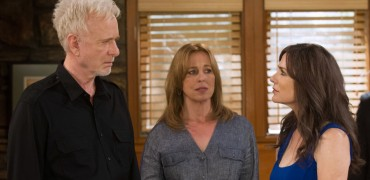 """GENERAL HOSPITAL - Anthony Geary (Luke), Genie Francis (Laura) and Holly Gagnier (Jennifer Smith) in a scene that airs the week of June 22, 2015 on ABC's """"General Hospital.""""   """"General Hospital"""" airs Monday-Friday (3:00 p.m. - 4:00 p.m., ET) on the ABC Television Network.   (ABC/Michael Yada)  ANTHONY GEARY, GENIE FRANCIS, HOLLY GAGNIER"""