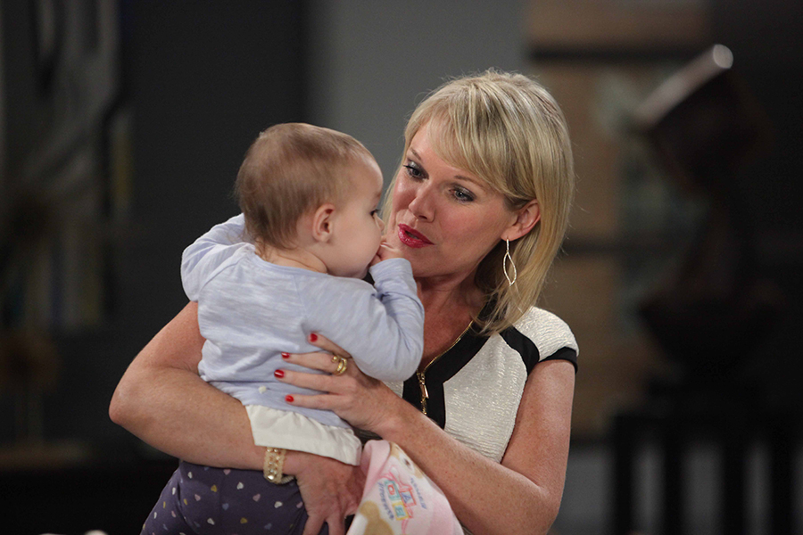 Ava (Maura West) is reunited with her baby girl Avery. Photo Credit: © Howard Wise/jpistudios.com