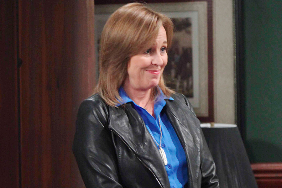 "Genie Francis ""General Hospital"" Set The Prospect Studios ABC Studios 09/22/15 © Howard Wise/jpistudios.com 310-657-9661 Episode # 13405 U.S. Airdate 10/05/15"