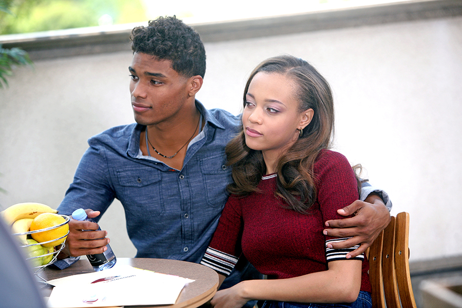 "Rome Flynn, Reign Edwards ""The Bold and the Beautiful"" Set CBS Television City Los Angeles, Ca. 08/19/15 © sean smith/jpistudios.com 310-657-9661 Episode # 7171 U.S.Airdate 09/24/15"