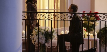 """SCANDAL - """"Get Out of Jail, Free"""" - Fitz and Olivia are presented with a shocking plan that might just make all of their troubles go away, and Mellie is put through the ringer when confronted about her troubled marriage. Meanwhile, the Gladiators continue to defend Olivia, and Susan Ross turns to David for advice, on """"Scandal,"""" THURSDAY, OCTOBER 29 (9:00-10:00 p.m., ET) on the ABC Television Network.  (ABC/Nicole Wilder) KERRY WASHINGTON, TONY GOLDWYN"""