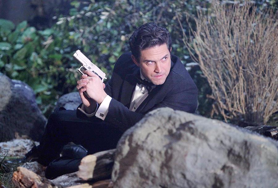 "Brandon Barash ""General Hospital"" Set  The Prospect Studios ABC Studios 01/07/15 © Howard Wise/jpistudios.com 310-657-9661 Episode # 13232 U.S. Airdate 02/02/15"