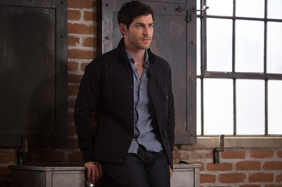 "GRIMM -- ""Lost Boys"" Episode 503 -- Pictured: David Giuntoli as Nick Burkhardt -- (Photo by: Scott Green/NBC)"
