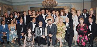 "Kristian Alfonso, Daniel Cosgrove, Susan Seaforth Hayes, Bill Hayes, Cast ""Days of our Lives"" Set NBC Studios Burbank 05/21/15 © JJohnson/jpistudios.com 310-657-9661"