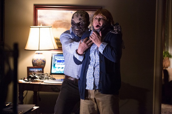 """GRIMM -- """"Clear and Wesen Danger"""" Episode 502-- Pictured: (l-r) Paul Wemlinger as Quijada Vil, Susan Ruttan as Betty Frame-- (Photo by: Scott Green/NBC)"""