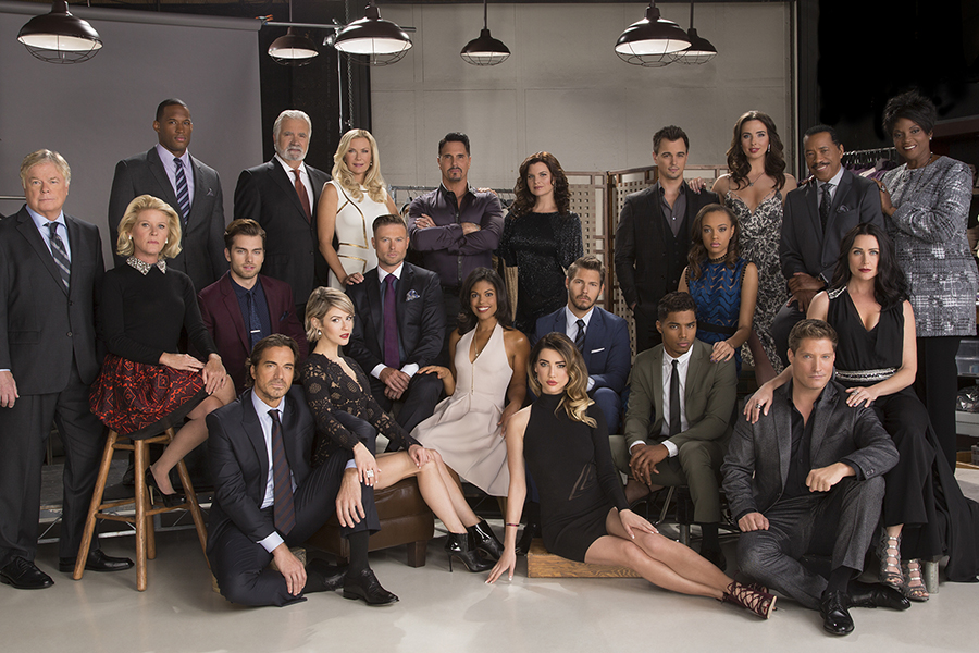 The Cast of the CBS series THE BOLD AND THE BEAUTIFUL  Photo: Cliff Lipson/CBS ©2015 CBS Broadcasting Inc. All Rights Reserved.