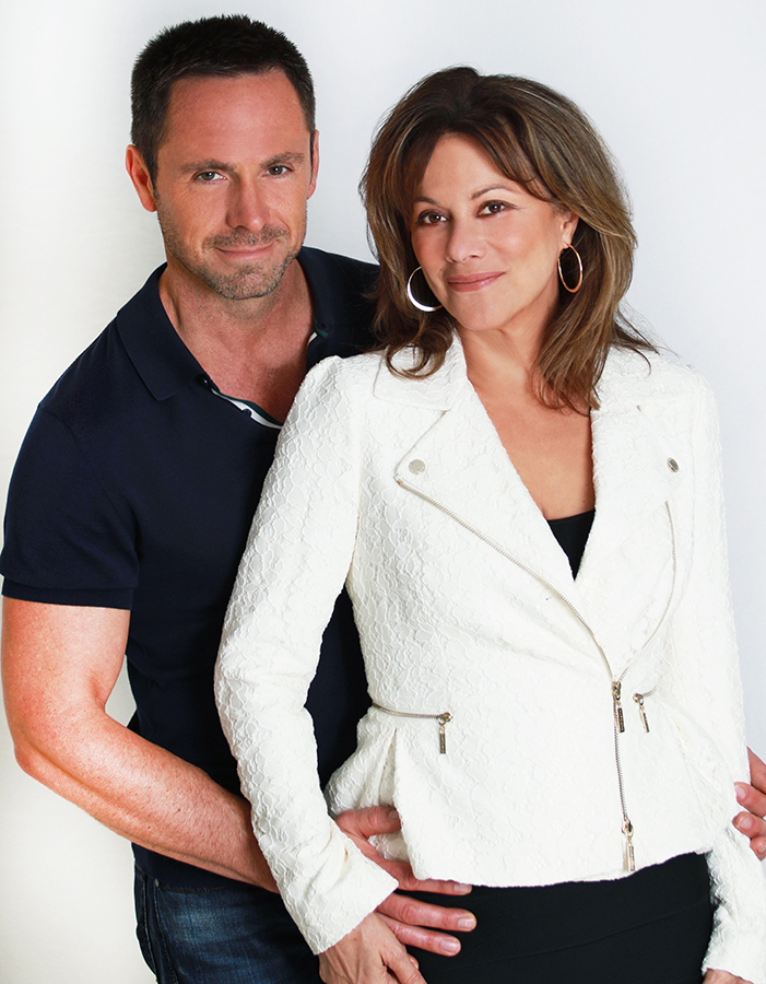 Pictured: William deVry and Nancy Lee Grahn; Credit: © Jim Warren Photography