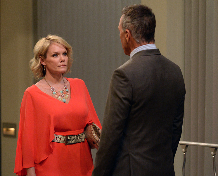 """GENERAL HOSPITAL - Show coverage of ABC's """"General Hospital"""" airing the week of March 28, 2016.  The Emmy-winning daytime drama """"General Hospital"""" airs Monday-Friday (3:00 p.m. - 4:00 p.m., ET) on the ABC Television Network.    GH16 (ABC/Michael Yada)MAURA WEST, RICHARD BURGI"""