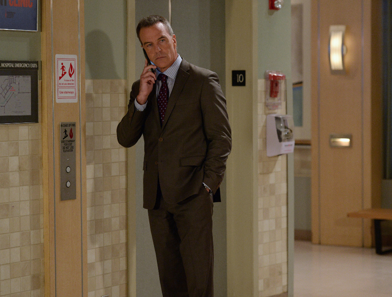 """GENERAL HOSPITAL - Show coverage of ABC's """"General Hospital"""" airing the week of March 28, 2016.  The Emmy-winning daytime drama """"General Hospital"""" airs Monday-Friday (3:00 p.m. - 4:00 p.m., ET) on the ABC Television Network.    GH16  (ABC/Michael Yada) RICHARD BURGI"""