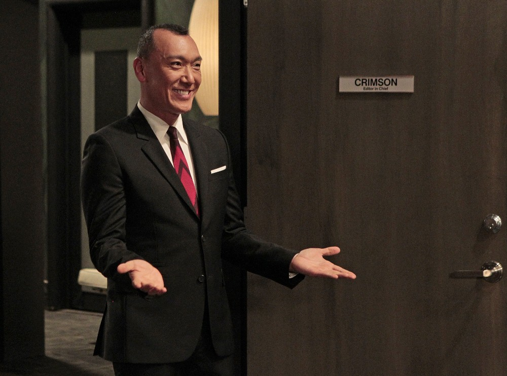 """GENERAL HOSPITAL - """"FABLife"""" host, editor-in-chief, Yahoo Style and longtime """"General Hospital"""" enthusiast, Joe Zee will make cameo appearance on Friday, April 1, 2016 on ABC's """"General Hospital.""""  The Emmy-winning daytime drama """"General Hospital"""" airs Monday-Friday (3:00 p.m. - 4:00 p.m., ET) on the ABC Television Network.    GH16 (ABC/Rick Rowell) JOE ZEE"""