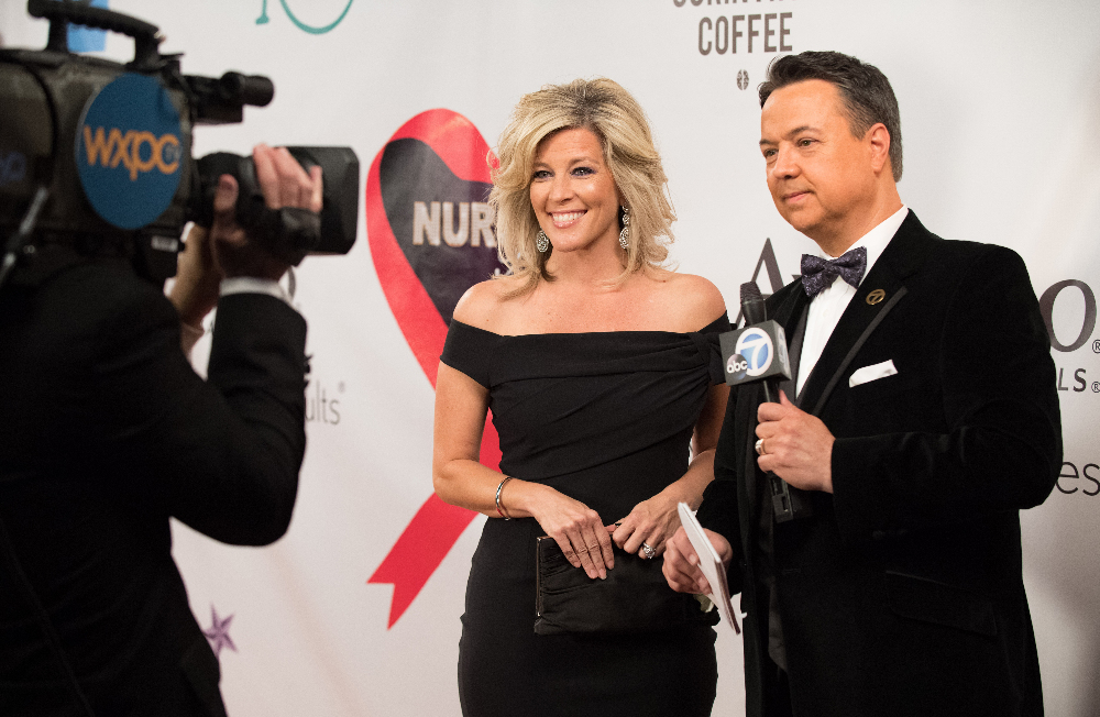 """GENERAL HOSPITAL - The Nurses' Ball airs throughout the week of May 23, 2016 on ABC's """"General Hospital."""" The Emmy-winning daytime drama """"General Hospital"""" airs Monday-Friday (3:00 p.m. - 4:00 p.m., ET) on the ABC Television Network.   GH16  (ABC/Richard Harbaugh) LAURA WRIGHT, KABC NEWS CORRESPONDENT GEORGE PENNACCHIO"""