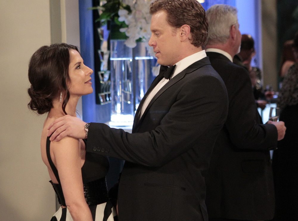 """GENERAL HOSPITAL - The Nurses' Ball airs throughout the week of May 23, 2016 on ABC's """"General Hospital."""" The Emmy-winning daytime drama """"General Hospital"""" airs Monday-Friday (3:00 p.m. - 4:00 p.m., ET) on the ABC Television Network.   GH16  (ABC/Rick Rowell) KELLY MONACO, BILLY MILLER"""