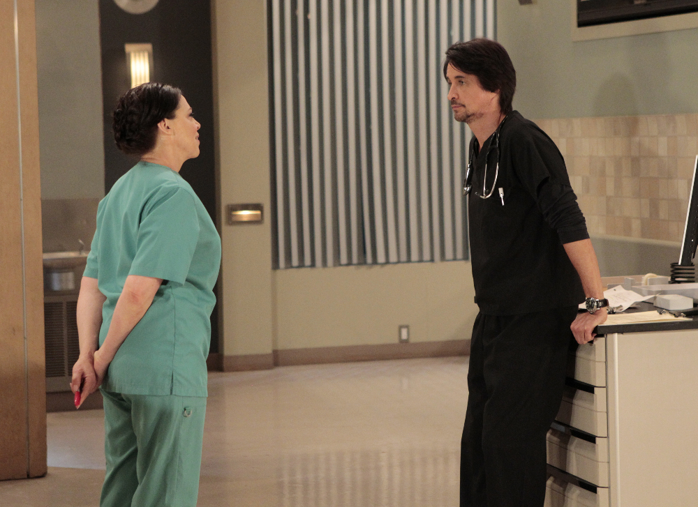 """GENERAL HOSPITAL - The Nurses' Ball airs throughout the week of May 23, 2016 on ABC's """"General Hospital."""" The Emmy-winning daytime drama """"General Hospital"""" airs Monday-Friday (3:00 p.m. - 4:00 p.m., ET) on the ABC Television Network.   GH16  (ABC/Rick Rowell) KATHLEEN GATI, MICHAEL EASTON"""