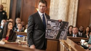 "CHICAGO P.D. -- ""Justice"" Episode 321 -- Pictured: Philip Winchester as Peter Stone -- (Photo by: Matt Dinerstein/NBC)"