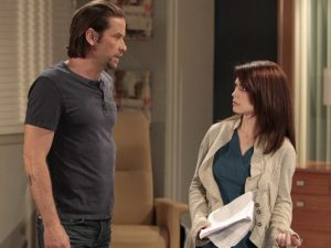 "GENERAL HOSPITAL - Roger Howarth (Franco) and Rebecca Herbst (Elizabeth) in a scene that airs the week of June 20, 2016 on ABC's ""General Hospital."" The Emmy-winning daytime drama ""General Hospital"" airs Monday-Friday (3:00 p.m. - 4:00 p.m., ET) on the ABC Television Network.   GH16  (ABC/Rick Rowell) ROGER HOWARTH, REBECCA HERBST"