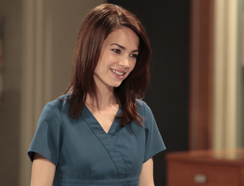 "GENERAL HOSPITAL - Rebecca Herbst (Elizabeth) in a scene that airs the week of June 20, 2016 on ABC's ""General Hospital."" The Emmy-winning daytime drama ""General Hospital"" airs Monday-Friday (3:00 p.m. - 4:00 p.m., ET) on the ABC Television Network.   GH16  (ABC/Rick Rowell) REBECCA HERBST"
