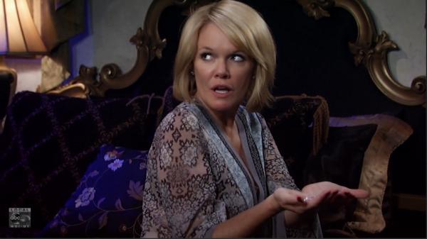 Ava gets her hands on Nik's diamonds.