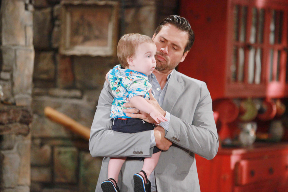 """Joshua Morrow """"The Young and the Restless"""" Set  CBS television City Los Angeles 06/23/16 © Howard Wise/jpistudios.com 310-657-9661 Episode # 10978 U.S. Airdate 08/02/16"""