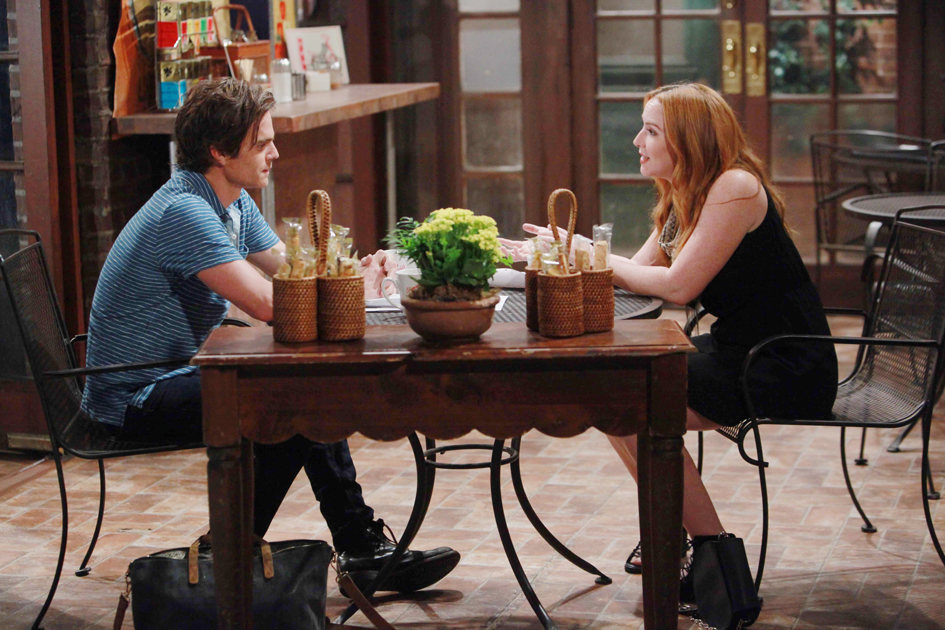 Camryn Grimes, Greg Rikaart