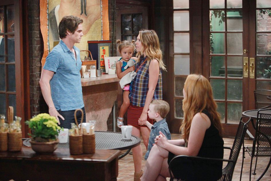 Camryn Grimes, Greg Rikaart, Elizabeth Hendrickson