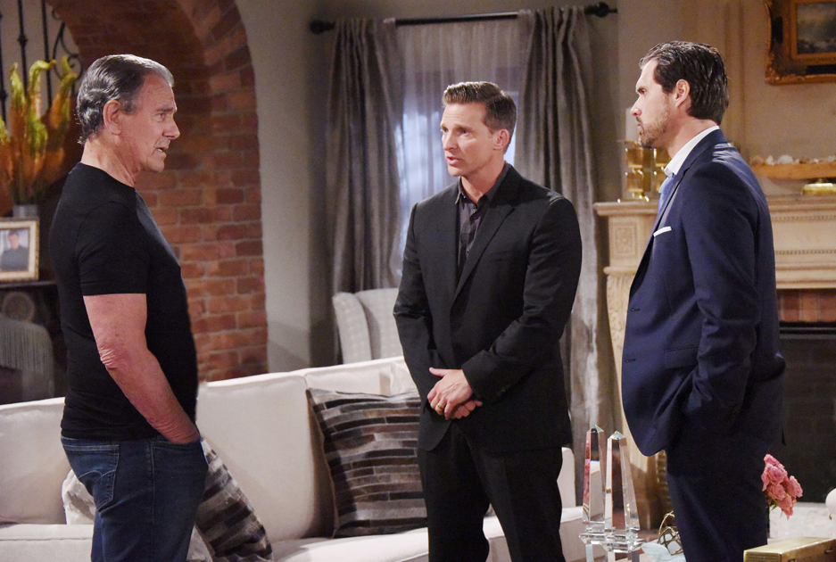 Eric Braeden, Joshua Morrow, Steve Burton